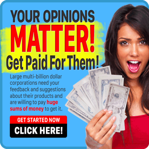 Paid Surveys Online Jobs